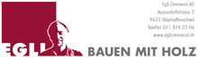 Logo Egli Zimmerei